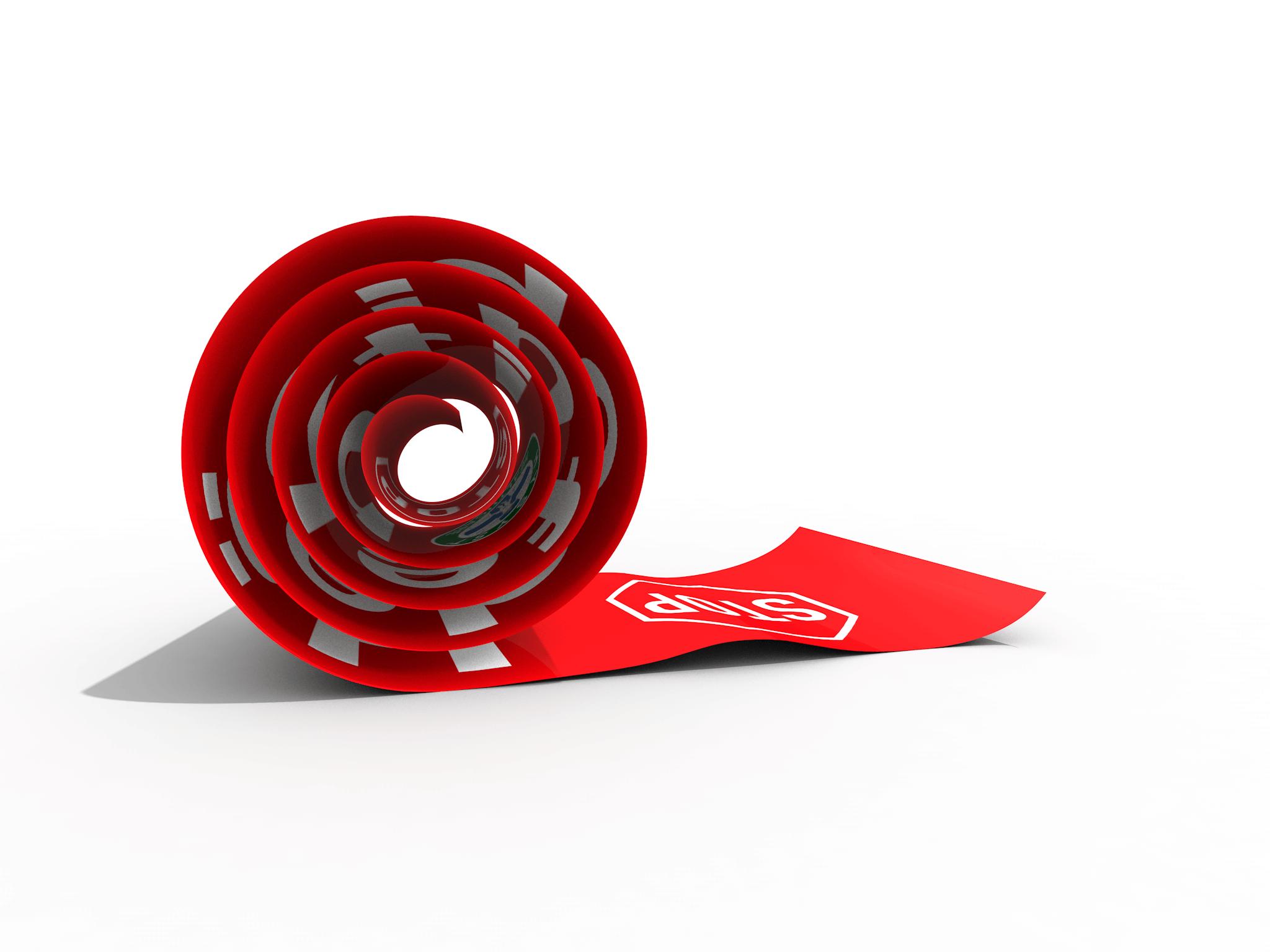 3D Visualisierung HYSYST Bodenaufkleber