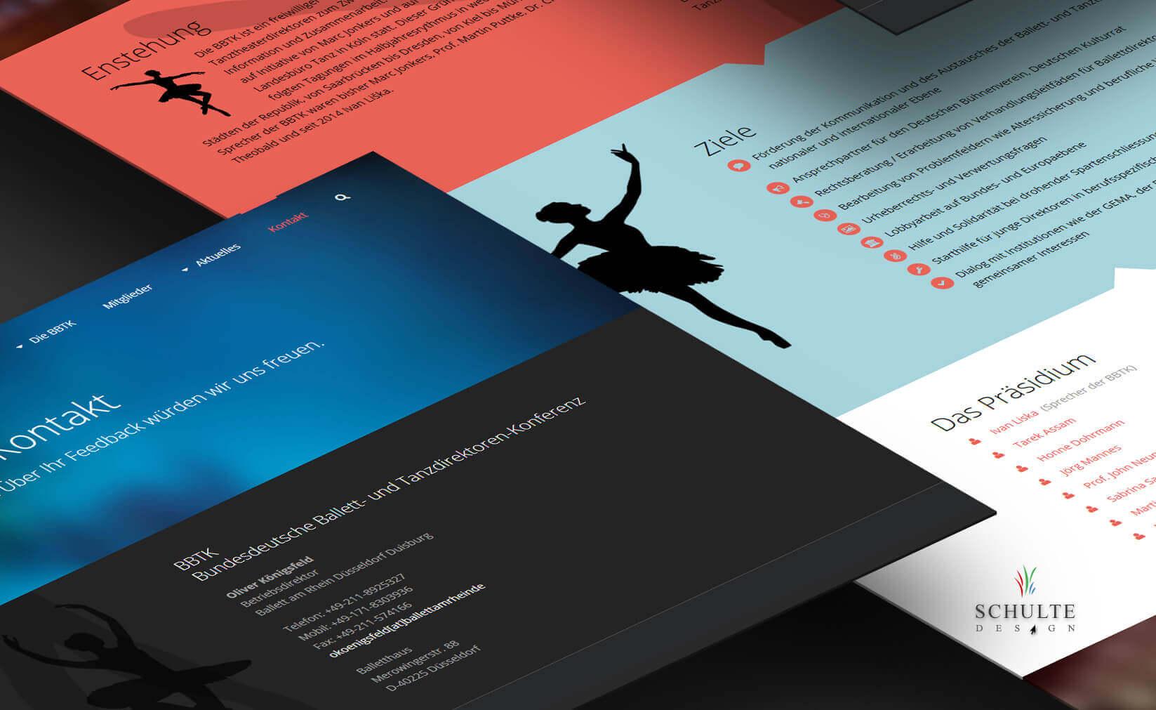 WordPress Website für BBTK