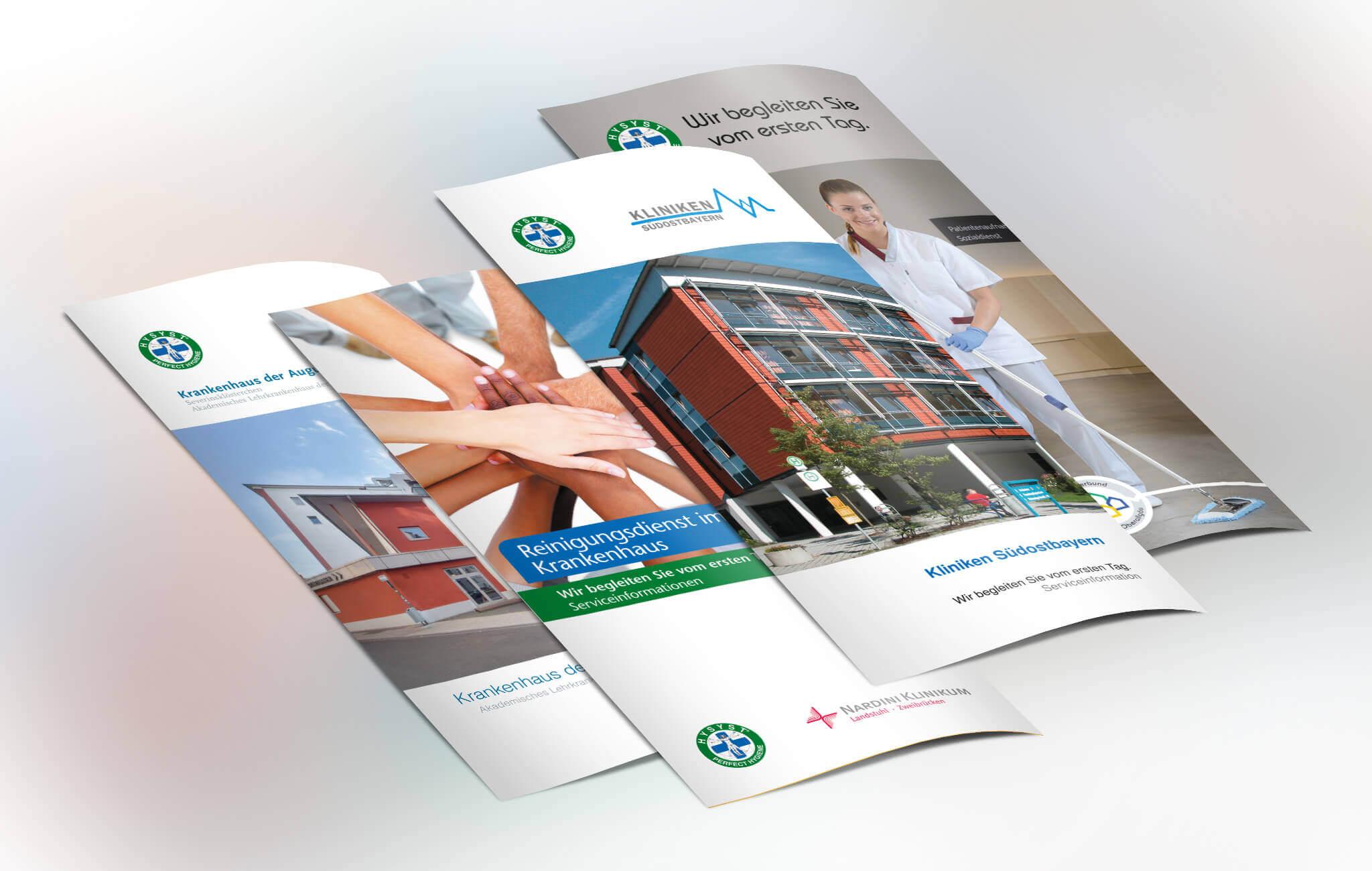 Information Flyer für HYSYST