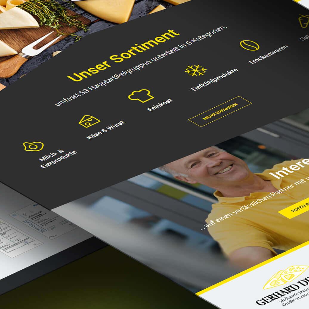 Website Gerhard Denecke