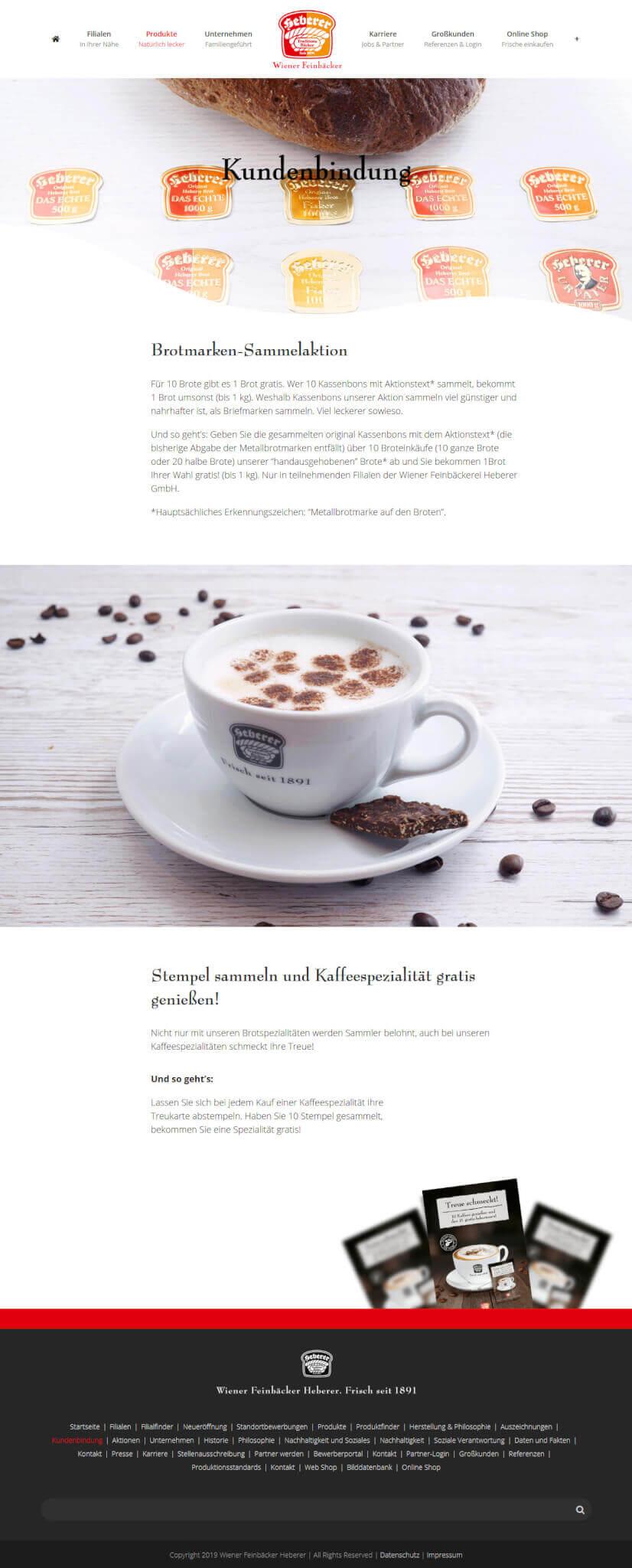 WordPress Website für Heberer.de