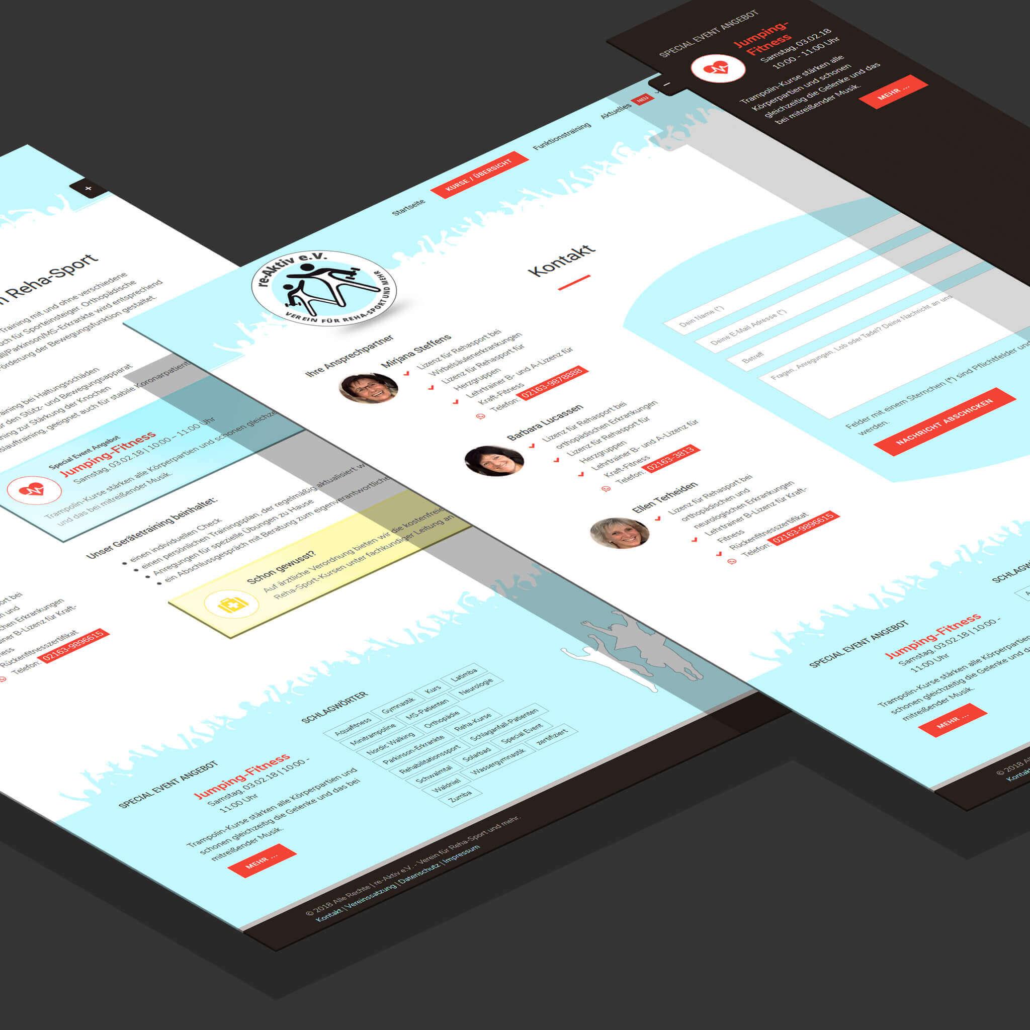 Website re-Aktive Schwalmtal e.V.