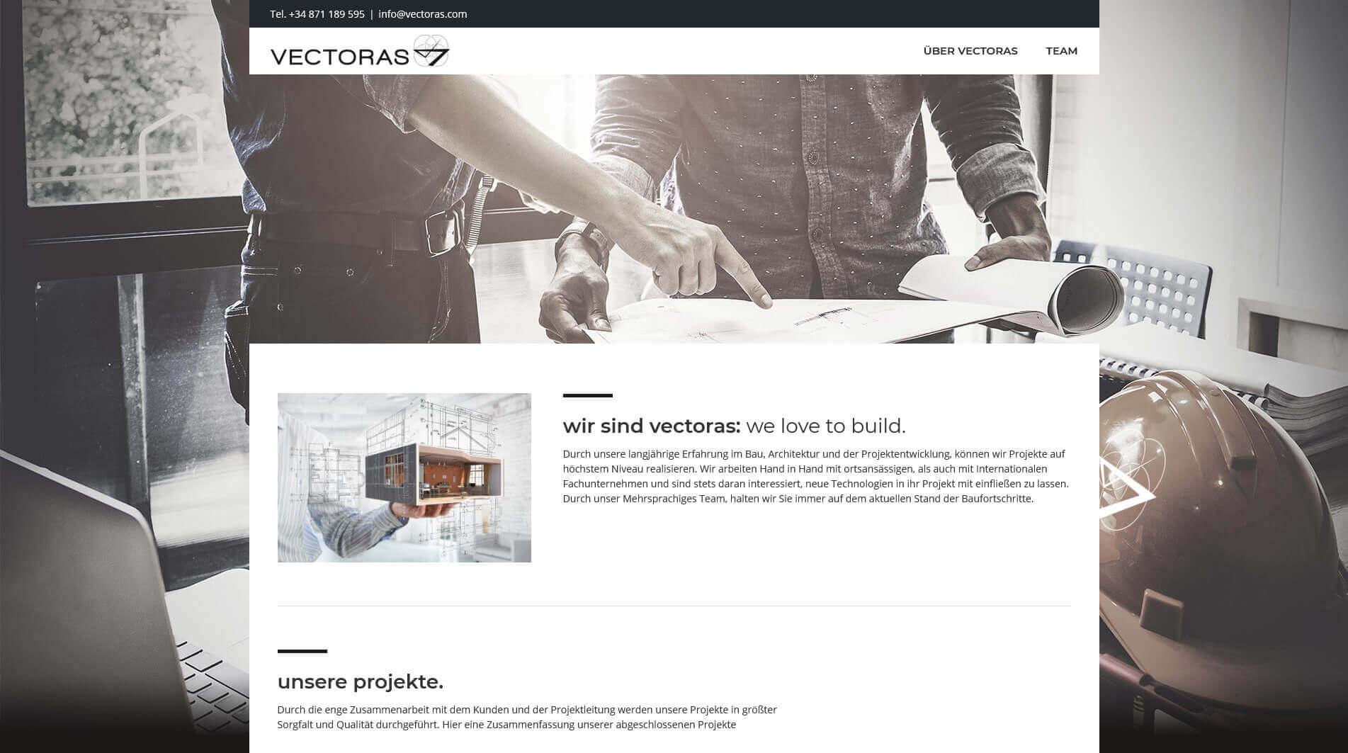 Website Vectoras